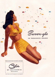 California Stylist, 1944, Swoon Suit advertisement