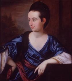 Portrait of Rachel Moore Allston by Henry Benbridge