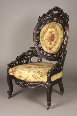 Philadelphia Armchair 1853 by Charles H. White