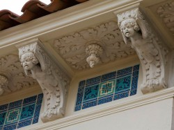 Cherubs on Casa Grand by Julia Morgan