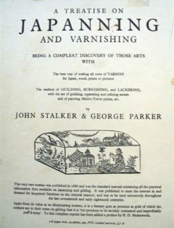 "Frontispiece of ""A Treatise on Japanning and Varnishing"" by Stalker and Parker"