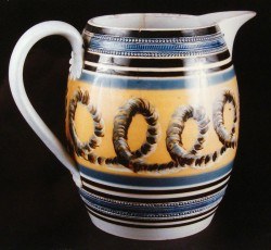 Large English cider jug, ca 1830