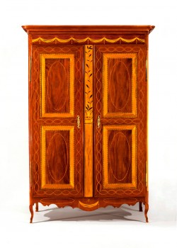 Louisiana armoire, Colonial Williamsburg Foundation