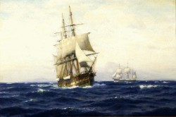 """South Sea Whaling,"" circa 1895–1900 by William Edward Norton"