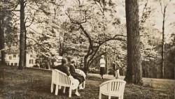 Guests at Winterthur, 1935