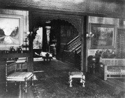 Front parlor of Lockwood de Forest house