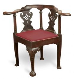 Corner or smoking chair by Robert Walker
