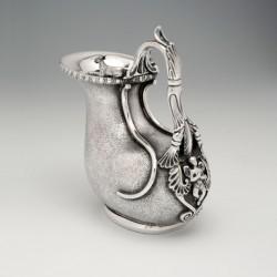 Silver askos-form wine jug, Kirk & Sons