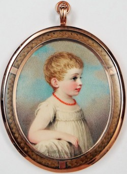 Miniature of Anna Louisa Middleton Blake
